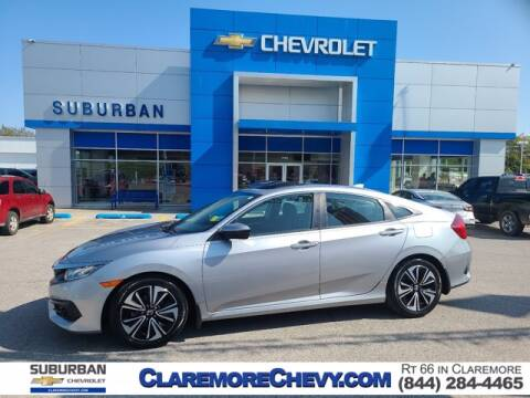 2016 Honda Civic for sale at Suburban Chevrolet in Claremore OK