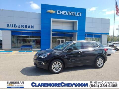 2017 Buick Envision for sale at Suburban Chevrolet in Claremore OK