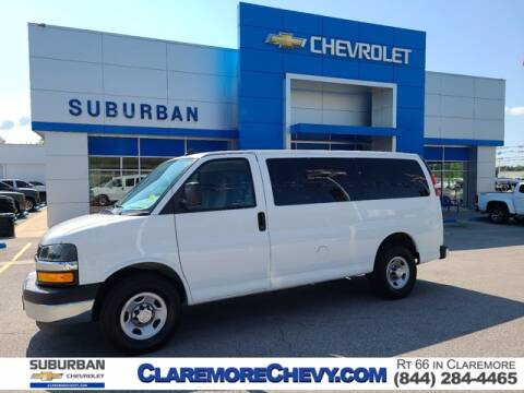 2017 Chevrolet Express Passenger for sale at Suburban Chevrolet in Claremore OK