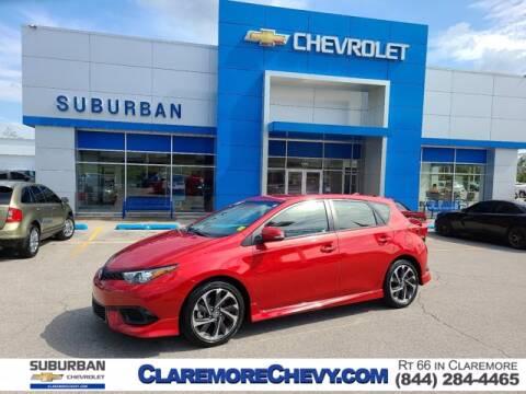 2018 Toyota Corolla iM for sale at Suburban Chevrolet in Claremore OK