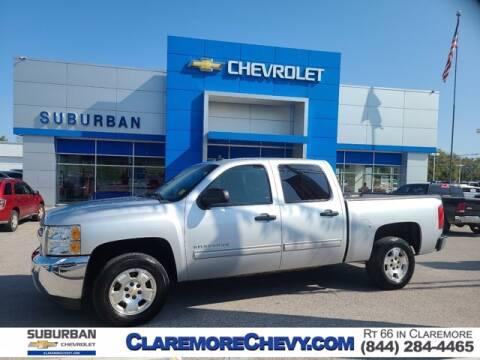 2013 Chevrolet Silverado 1500 for sale at Suburban Chevrolet in Claremore OK