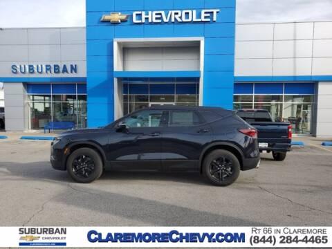 2021 Chevrolet Blazer for sale at Suburban Chevrolet in Claremore OK