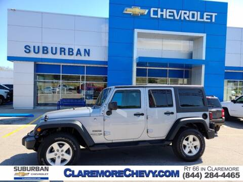 2018 Jeep Wrangler JK Unlimited for sale at Suburban Chevrolet in Claremore OK