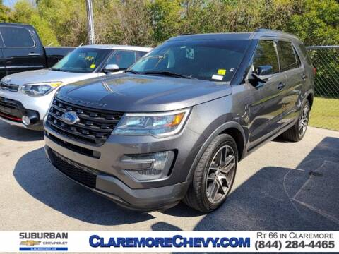 2016 Ford Explorer for sale at Suburban Chevrolet in Claremore OK