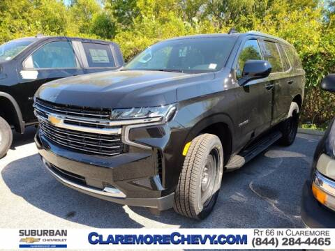 2021 Chevrolet Tahoe for sale at Suburban Chevrolet in Claremore OK