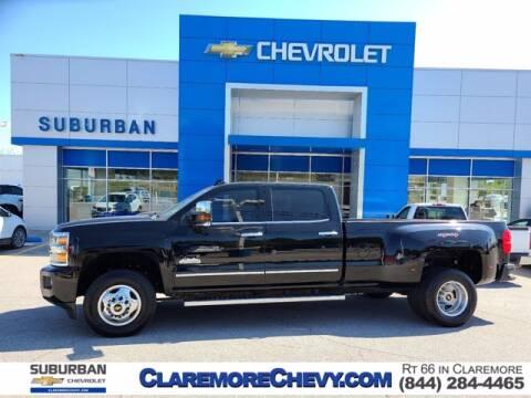 2016 Chevrolet Silverado 3500HD for sale at Suburban Chevrolet in Claremore OK