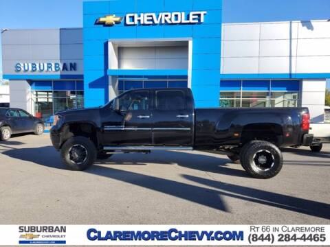 2013 GMC Sierra 3500HD for sale at Suburban Chevrolet in Claremore OK