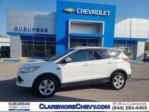 2015 Ford Escape for sale at Suburban Chevrolet in Claremore OK