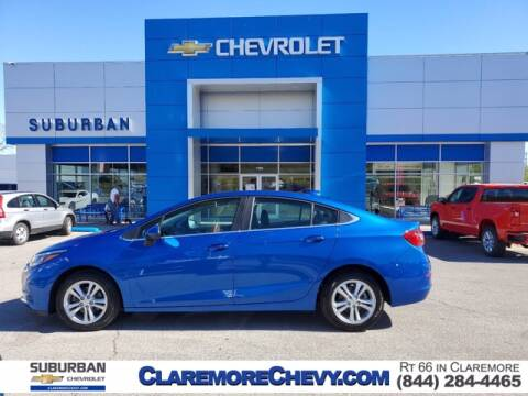 2017 Chevrolet Cruze for sale at Suburban Chevrolet in Claremore OK