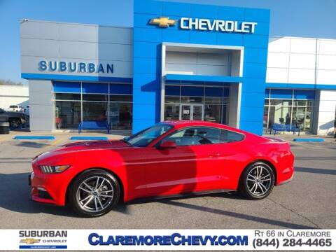 2016 Ford Mustang for sale at Suburban Chevrolet in Claremore OK