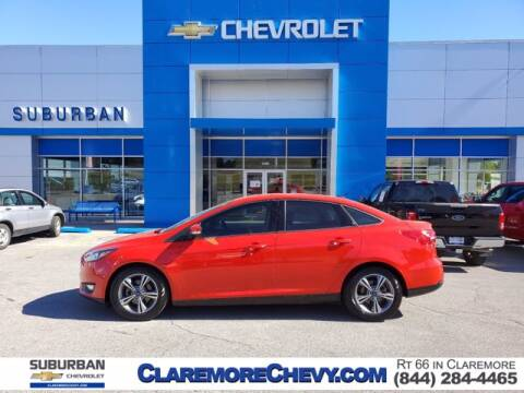 2017 Ford Focus for sale at Suburban Chevrolet in Claremore OK