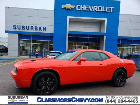 2017 Dodge Challenger for sale at Suburban Chevrolet in Claremore OK
