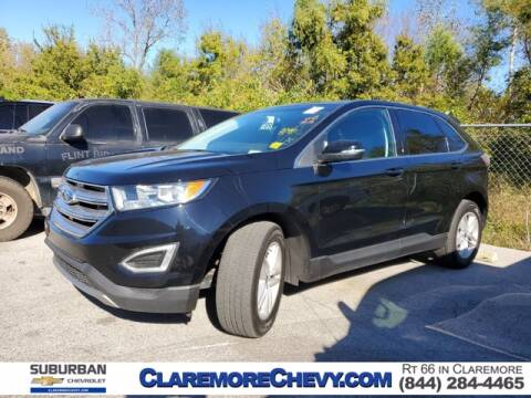 2017 Ford Edge for sale at Suburban Chevrolet in Claremore OK