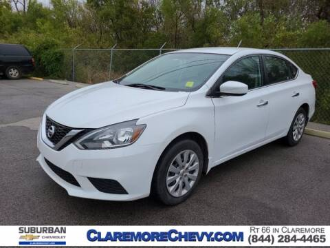 2016 Nissan Sentra for sale at Suburban Chevrolet in Claremore OK