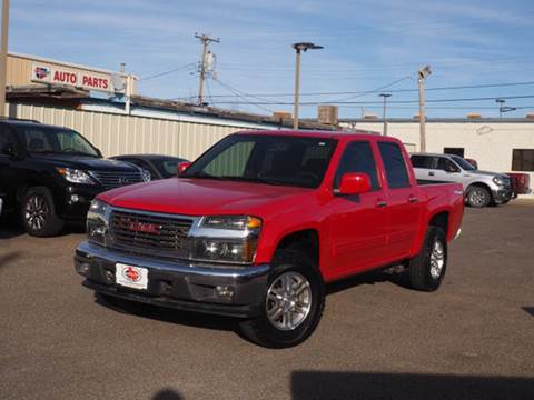 2012 GMC Canyon for sale in Pampa, TX