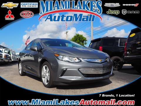 2018 Chevrolet Volt for sale in Miami, FL