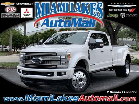 2017 Ford F-450 Super Duty for sale in Miami, FL