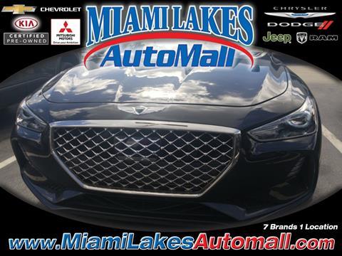 2019 Genesis G70 for sale in Miami, FL