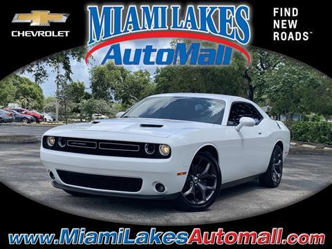 2017 Dodge Challenger for sale in Miami, FL