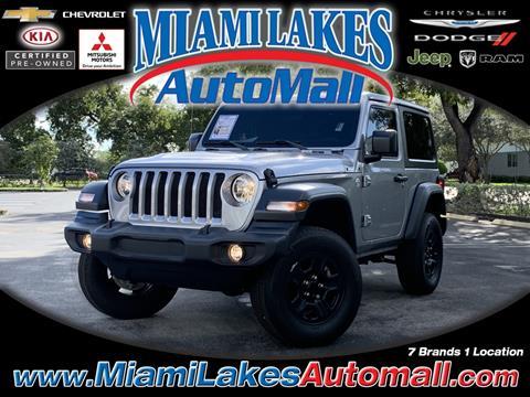 2018 Jeep Wrangler for sale in Miami, FL