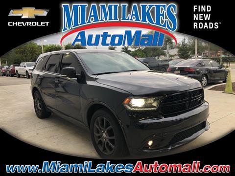 2016 Dodge Durango for sale in Miami, FL