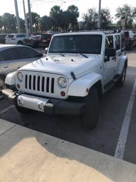 2013 Jeep Wrangler Unlimited for sale at Miami Lakes Auto Mall in Miami FL