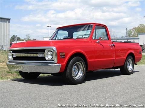 1970 Chevy Pickup >> 1970 Chevrolet Silverado 1500 For Sale In Richmond Va