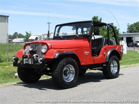 1973 Jeep CJ 5 For Sale In Richmond, VA