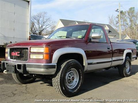 1994 GMC Sierra 2500 for sale in Richmond, VA
