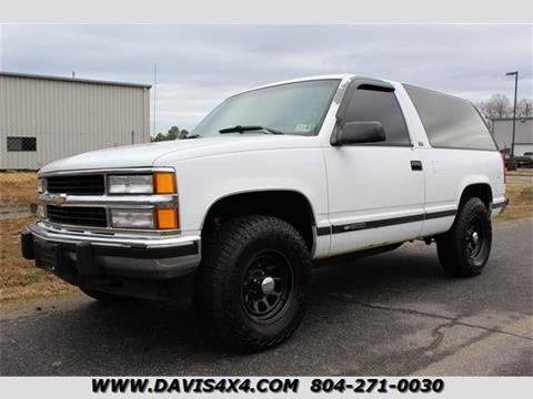 1994 Chevrolet Blazer For Sale In Richmond Va