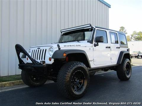 Jeeps For Sale In Va >> 2012 Jeep Wrangler Unlimited For Sale In Richmond Va
