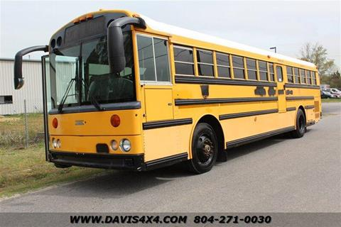 2001 thomas built buses saf-t-liner mvp er for sale in richmond,