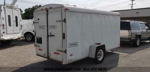2002 Haulmark ENCLOSED UTILITY TRAILER 12 14 for sale in Richmond, VA