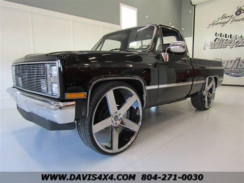 Cars For Sale Richmond Va >> 1987 Chevrolet R V 10 Series For Sale In Richmond Va