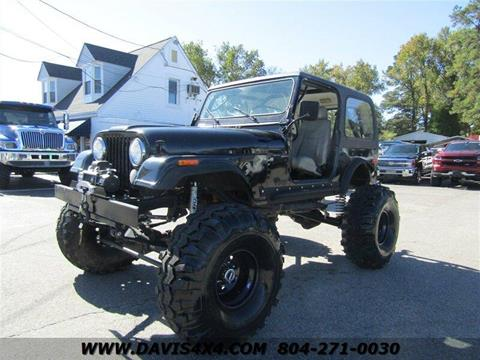 1977 Jeep Wrangler for sale in Richmond, VA