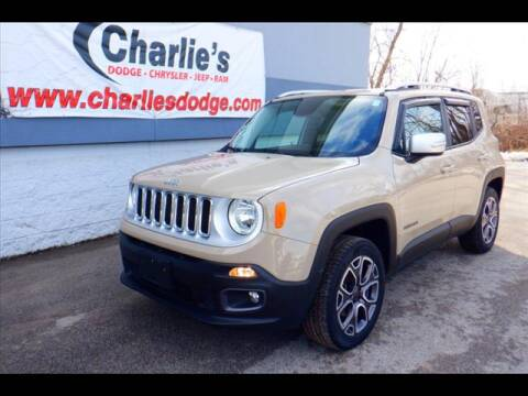 2015 Jeep Renegade Limited for sale at Charlie's Dodge Chrysler Jeep - CHARLIE'S DODGE INC. in Maumee OH