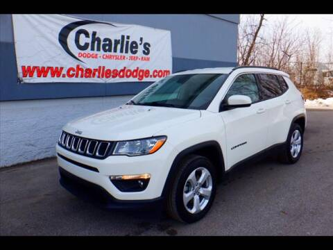 2018 Jeep Compass Latitude for sale at Charlie's Dodge Chrysler Jeep - CHARLIE'S DODGE INC. in Maumee OH