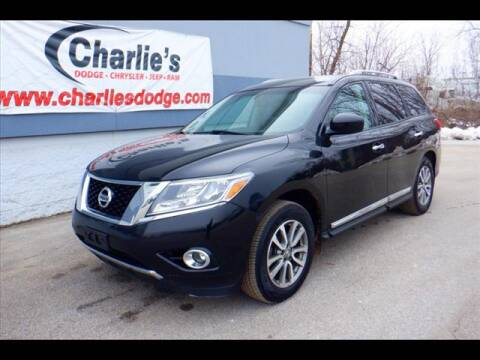 2013 Nissan Pathfinder SL for sale at Charlie's Dodge Chrysler Jeep - CHARLIE'S DODGE INC. in Maumee OH