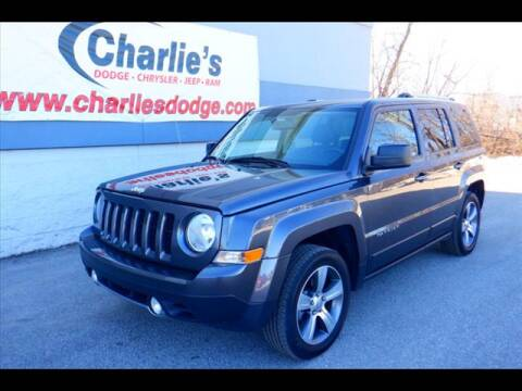 2017 Jeep Patriot High Altitude for sale at Charlie's Dodge Chrysler Jeep - CHARLIE'S DODGE INC. in Maumee OH