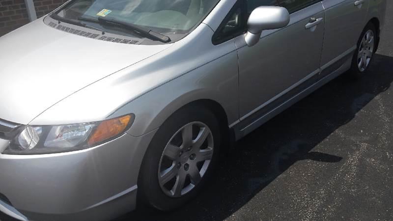 2006 Honda Civic LX 4dr Sedan w/manual - Christiansburg VA