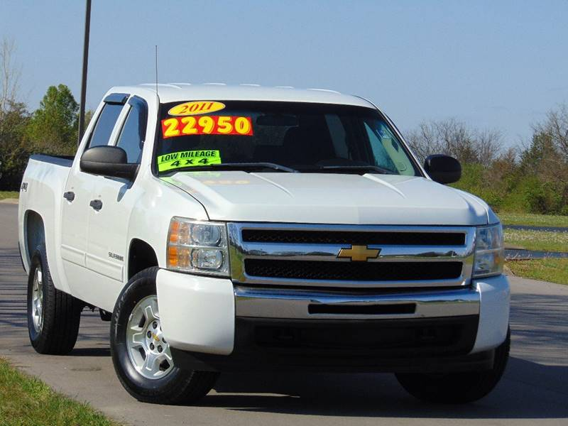 2011 Chevrolet Silverado 1500 4x4 Lt 4dr Crew Cab 5 8 Ft Sb