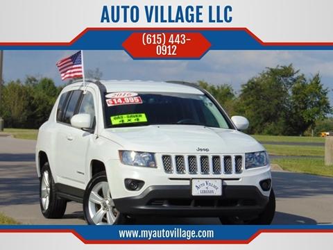 2016 Jeep Compass for sale in Lebanon, TN