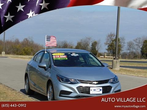 2017 Chevrolet Cruze for sale in Lebanon, TN