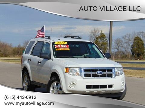 2012 Ford Escape for sale in Lebanon, TN