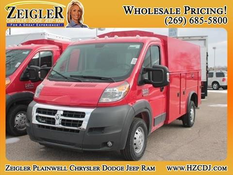 2017 RAM ProMaster Cutaway Chassis for sale in Plainwell, MI
