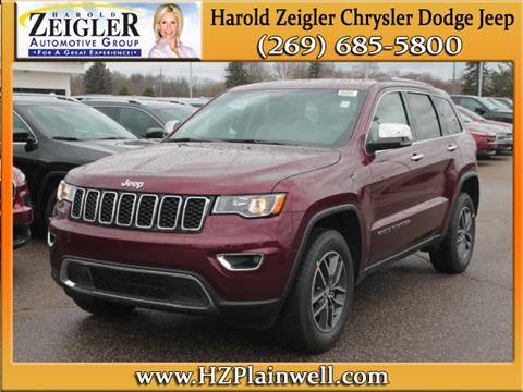 2017 Jeep Grand Cherokee for sale in Plainwell, MI