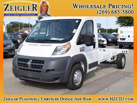 2018 RAM ProMaster Cutaway Chassis for sale in Plainwell, MI