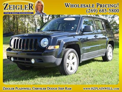 2016 Jeep Patriot for sale in Plainwell, MI