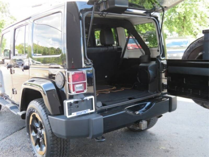 2014 Jeep Wrangler Unlimited Detroit Used Car for Sale