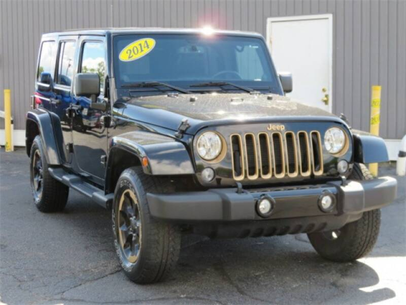 2014 Jeep Wrangler Unlimited car for sale in Detroit